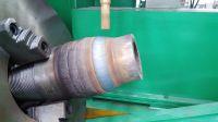 Drill pipe hardbanding welding machine
