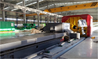 CNC drill collar spiral milling machine