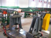 Drill pipe friction welding repair (grinding) machine