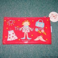pvc stationery bag case pen holder file folder