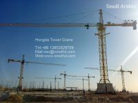 tower cranes QTZ500 25 ton export to Russia