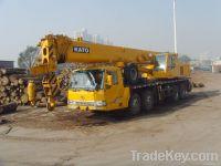 55t kato mobile crane, truck crane, japan crane