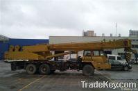 25T used XCMG Truck crane