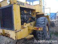 Tcm wheel loader 75b with forklift for sale