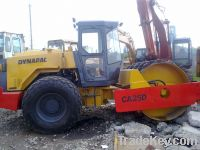 Dynapac road roller ca25pd