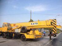 25T KATO truck crane, mobile crane, mount truck crane NK250E