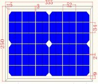 10W Solar Panel Monocrystalline module Panel