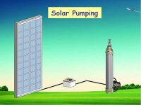1.1 KW Solar Pump Auto-starting solar pump solar water pump