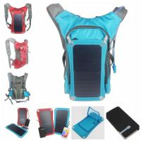Solar bag charging type outdoor solar backpack
