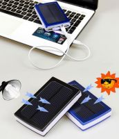 Solar Power bank backup battery charger