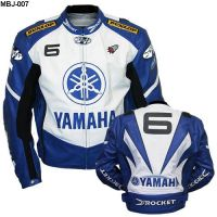 Motorbike Yamaha Leather Jacket