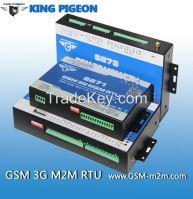 GSM SMS GPRS 3G RTU supports Modbus RTU Modbus TCP with 64 registers
