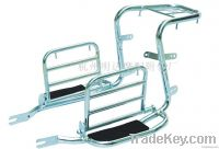 H572F LUGGAGE RACK AND FOOT PEDAL