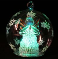 Glass Craft with LED lamp