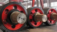tyres and end cap for ball mill