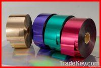 metallic yarn pet film