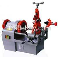 electric pipe threading tool
