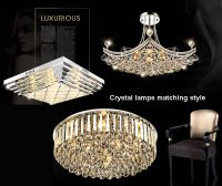 pendant light, crystal chandelier lamp