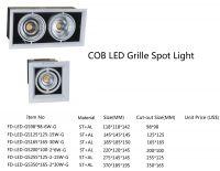 LED beam light, LED grille light, LED spot light