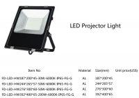 30W, 50W, 100W, 200W LED flood light, LED projector light