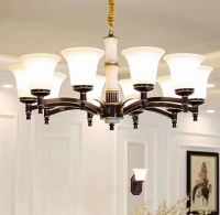 pendant light, crystal chandelier lamp, glasses lamp