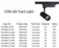 5W, 7W, 10W, 12W, 15W, 20W, 25W, 30W LED track light,