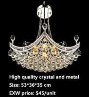 LED pendant light, crystal chandelier lamp,