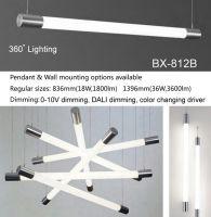 LED linear light, office light, LED tube light