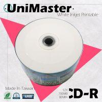 UniMaster Blank CD-R 52X 700MB Made in Taiwan