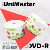 UniMaster Blank DVD-R LOGO 4.7GB 120min