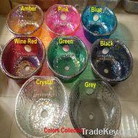 China Newest Pedicure Spa Glass Bowl For Nail Salon