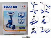 6 IN 1 THIRD-GENERATION SOLAR POWER CHANGING EQUIPMENT SOLAR TOYS