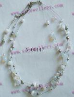 Glass Fashion Necklace