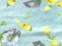 sell pure silk printed chiffon fabric