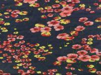 sell printed habotai fabric
