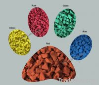 colored epdm granule