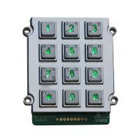 3x4 12keys cnc machines Zinc Alloy Payphone Keypad