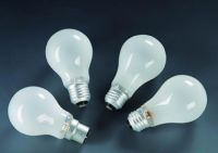 Normal Incandescent lamps and bulbs for family use