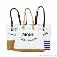 Nature style washable kraft paper Tote bag
