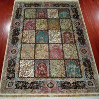 Turkish Silk Rug Handmade Hand Knotted Oriental Carpets China Supplier