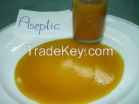 Pineapple juice concentrate in aseptic bag