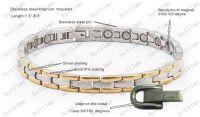 BIO titanium bracelet/magnetic jewelry