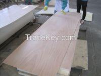 2.5mm 2.7mm 3mm 3.6mm 4mm Okoume veneer plywood door skin