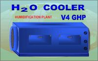 h2o cooller humidification plant