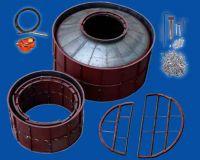 steel mould for biogas digester