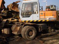 Used Hitachi EX-100 Wheel Excavator