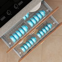 Kitchen Cabinet Accessory Pull out Sliding Drawer Basket
