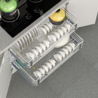 Hot Sell High Quality Multi-function Kitchen Cabinet Accessory Pull out Wire Drawer Basket