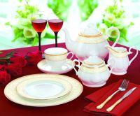 Bone China 24pcs tea set