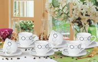 porcelain 12pcs coffee set